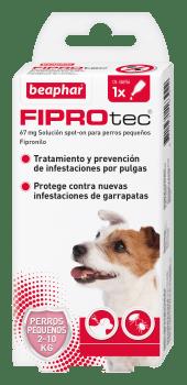 FIPROTEC SPOT ON PERRO PEQ. 2-10KG