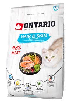 ONTARIO CAT HAIR & SKIN