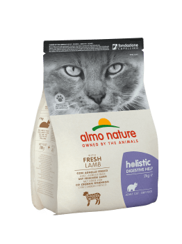 CAT DRY HOLISTIC INTESTINAL CORDERO - 2