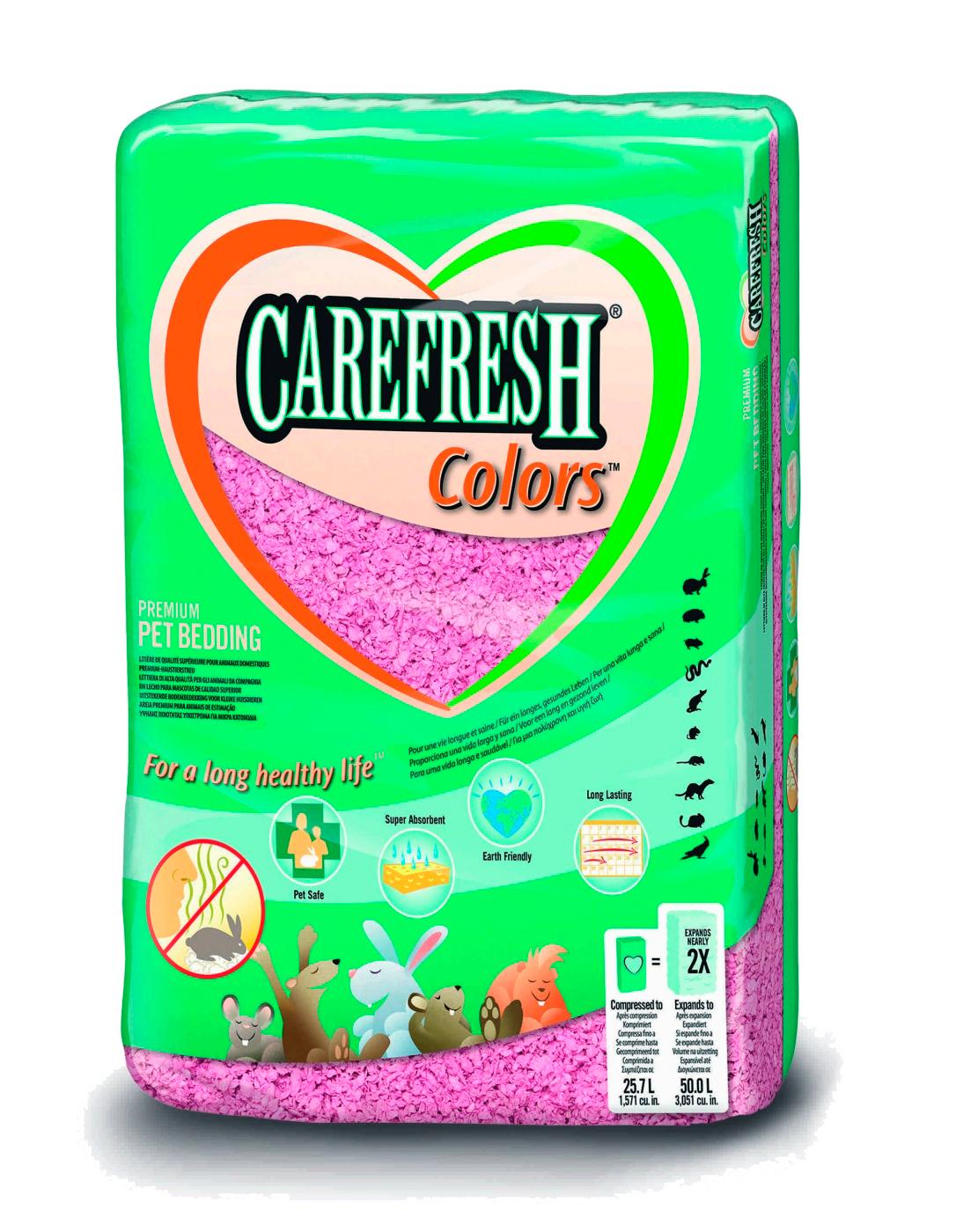 CAREFRESH COLORS ROSA