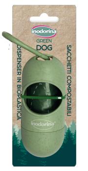INODORINA GREEN DISPENSADOR + BOLSITAS BIO