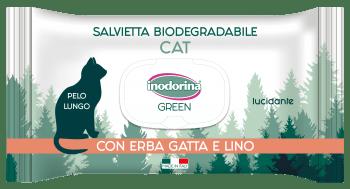 INODORINA GREEN TOALLITAS GATO PELO LARGO