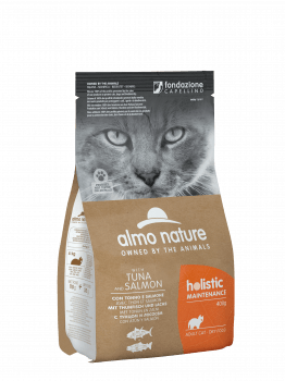 CAT DRY HOLISTIC ADULT ATUN Y SALMON - 1