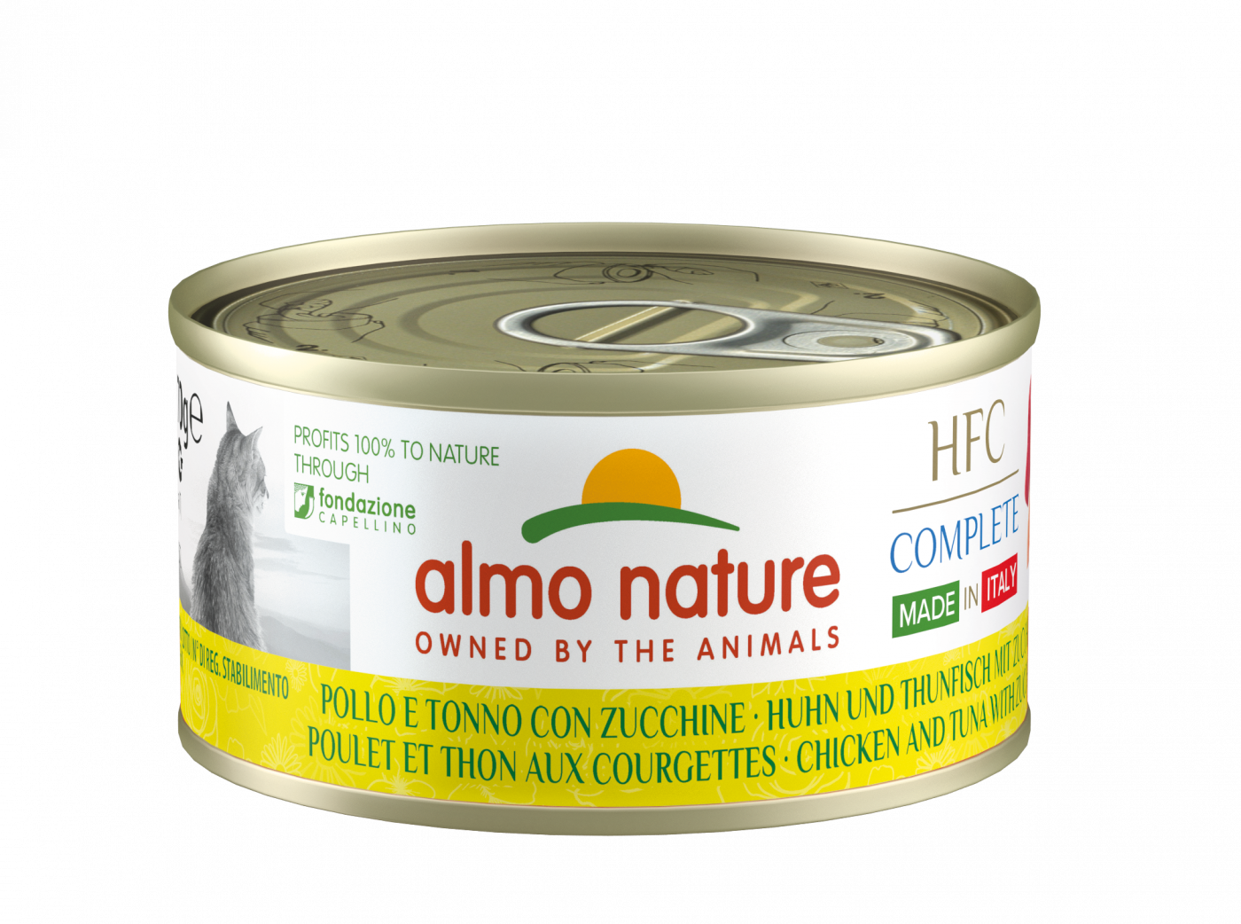 ¡OFERTA! CAT HFC COMPLETE MADE IN ITALY 70G