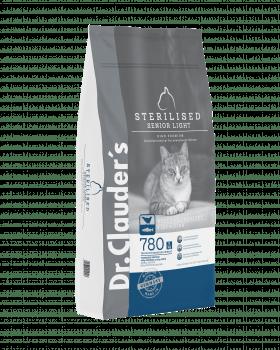 CAT DRY HIGH PREMIUM STERILISED SENIOR LIGHT - 4