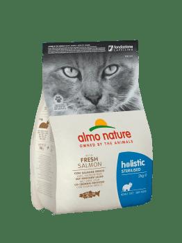 CAT DRY HOLISTIC STERILISED SALMON Y ARROZ - 2