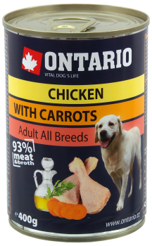 ONTARIO DOG CHICKEN, CARROTS, SALMON OIL
