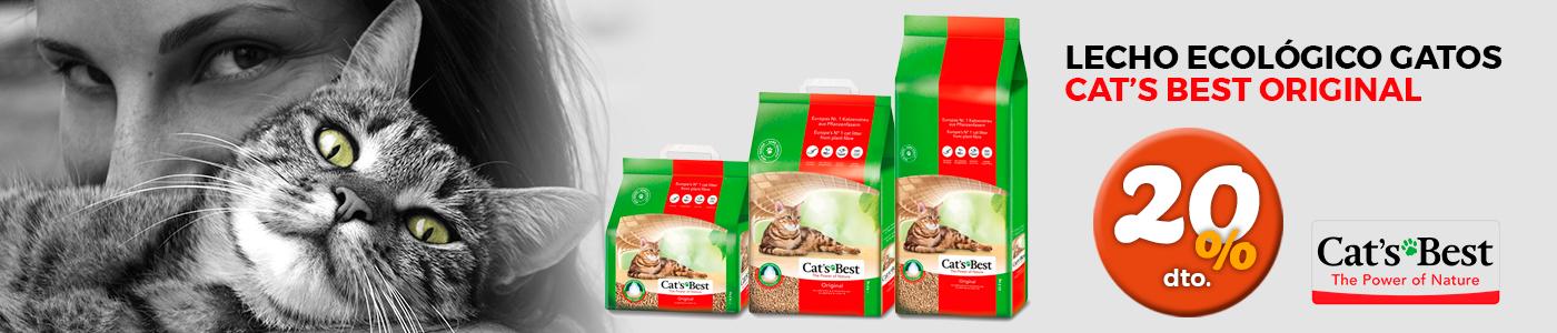 Promoción Cat's Best lecho para gatos