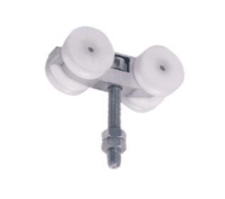Aluminio / nylon serie silenciosa