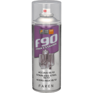 Spray de acero inoxidable  F-90  400 ml FAREN