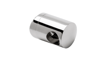 Soporte regulable pasante para tubo transversal barandilla inox (Caja 4 unidades)