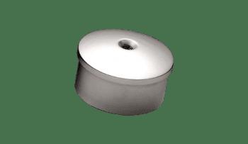 Tapa final para pasamanos de acero inox para bola (Caja indivisible 2 unidades / precio por unidad!!)