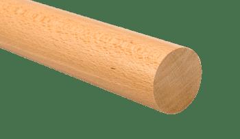 Pasamanos de madera  diámetro 45 mm en barras de 3 metros