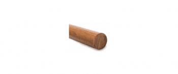 Pasamanos de madera  diámetro 45 mm en barras de 3 metros - 1