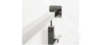 Base pared para poste cuadrado 40x40 barandilla inox AISI-316 (Caja indivisibles 2 unidades / precio por unidad!!) - 1