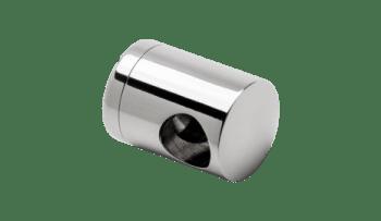 Soporte regulable pasante tubos transversales barandilla inox AISI-316 (caja 4 unidades indivisible / precio por unidad!!)