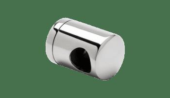 Soporte regulable terminal tubos transversales barandilla inox (caja 4 unidades indivisible / precio por unidad!!)