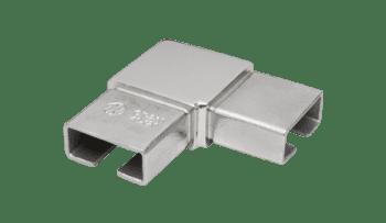 Codo 90º para pasamanos rectangular 40x20 inox AISI-316 (Caja 2 unidades / precio por unidad!!)