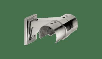Soporte fijo para sistema pasamanos DECOLED en acero inox (Caja indivisible 2 unidades / precio por unidad!!)