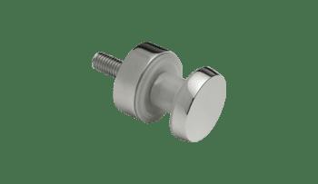 Botón para barandillas de vidrio en poste cuadrado inox AISI-316 (caja 4 unidades indivisible / Precio por unidad!!)