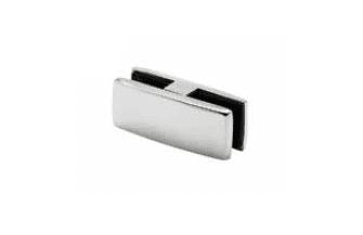 Grapa vidrio poste intermedio para barandilla inox MINIMAL (Caja indivisible 2 unidades / precio por unidad!!)