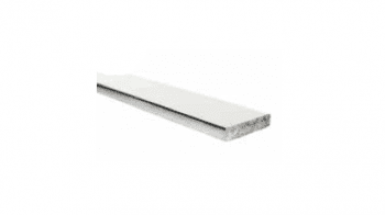 Pasamanos rectangular en inox AISI-316 barandilla inox  MINIMAL, barra 6 metros