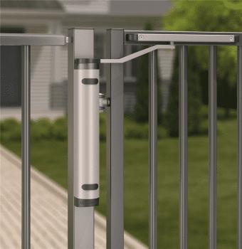 Cierrapuertas hidráulico vertical compacto para puertas batientes exteriores - 1