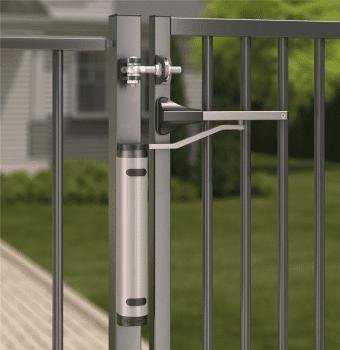 Cierrapuertas hidráulico vertical compacto para puertas batientes exteriores - 2