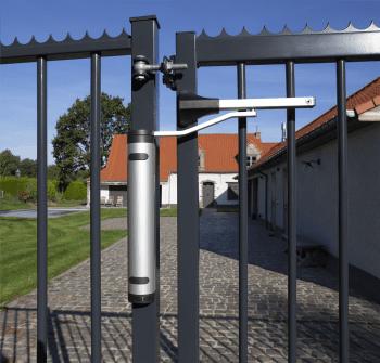 Cierrapuertas hidráulico vertical compacto para puertas batientes exteriores - 4