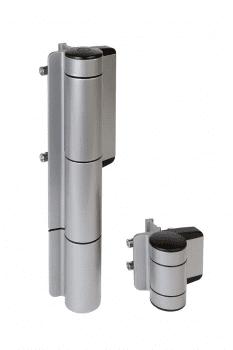 Cierrapuertas hidráulico vertical para puertas batientes de exterior