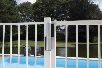 Cierrapuertas hidráulico vertical con bisagra inferior puertas batientes exteriores - 1