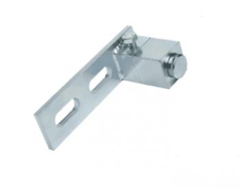 Punto de giro superior con soporte para puerta basculante