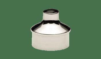 Adaptador soporte pasamanos barandilla inox AISI-316 (Caja indivisible 2 unidades / precio por unidad!!)