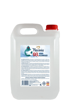 Gel hidroalcoholico en envase 5 litros