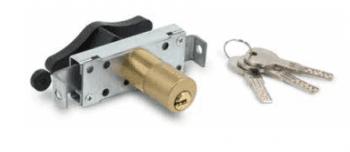 Cerradura para puerta basculante llave puntos (seguridad) AUMON
