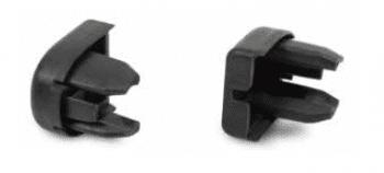 Tapones cubre extremos de borde de goma sensible (juego de 2)