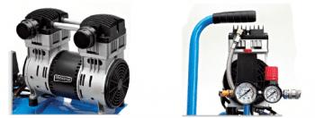 Compresor de acomplamiento directo 6 L y 3/4 HP serie Silence - 1