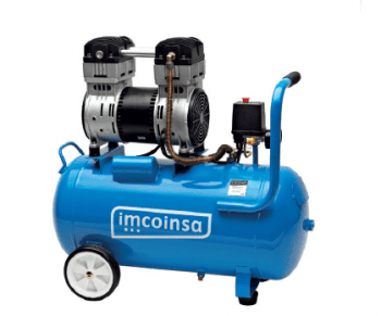 Compresor de acoplamiento directo 24 L y 1 HP serie SILENCE