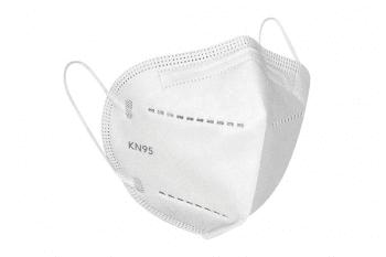 Mascarilla KN-95, venta individual en bolsa de plástico