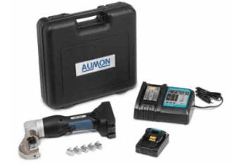 Herramienta eléctrica de batería para prensado de terminales inox