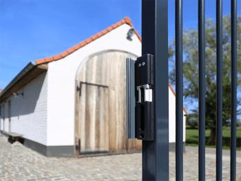 Cerradero eléctrico de sobreponer para puertas batientes LOCINOX - 1