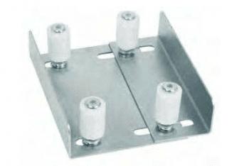 Soporte regulable  superior 4 rodillos, tamaño medio,  AUMON