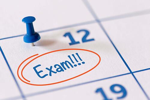 1st term exams