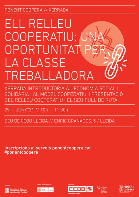 El Relleu cooperatiu: una oportunitat per la classe treballadora