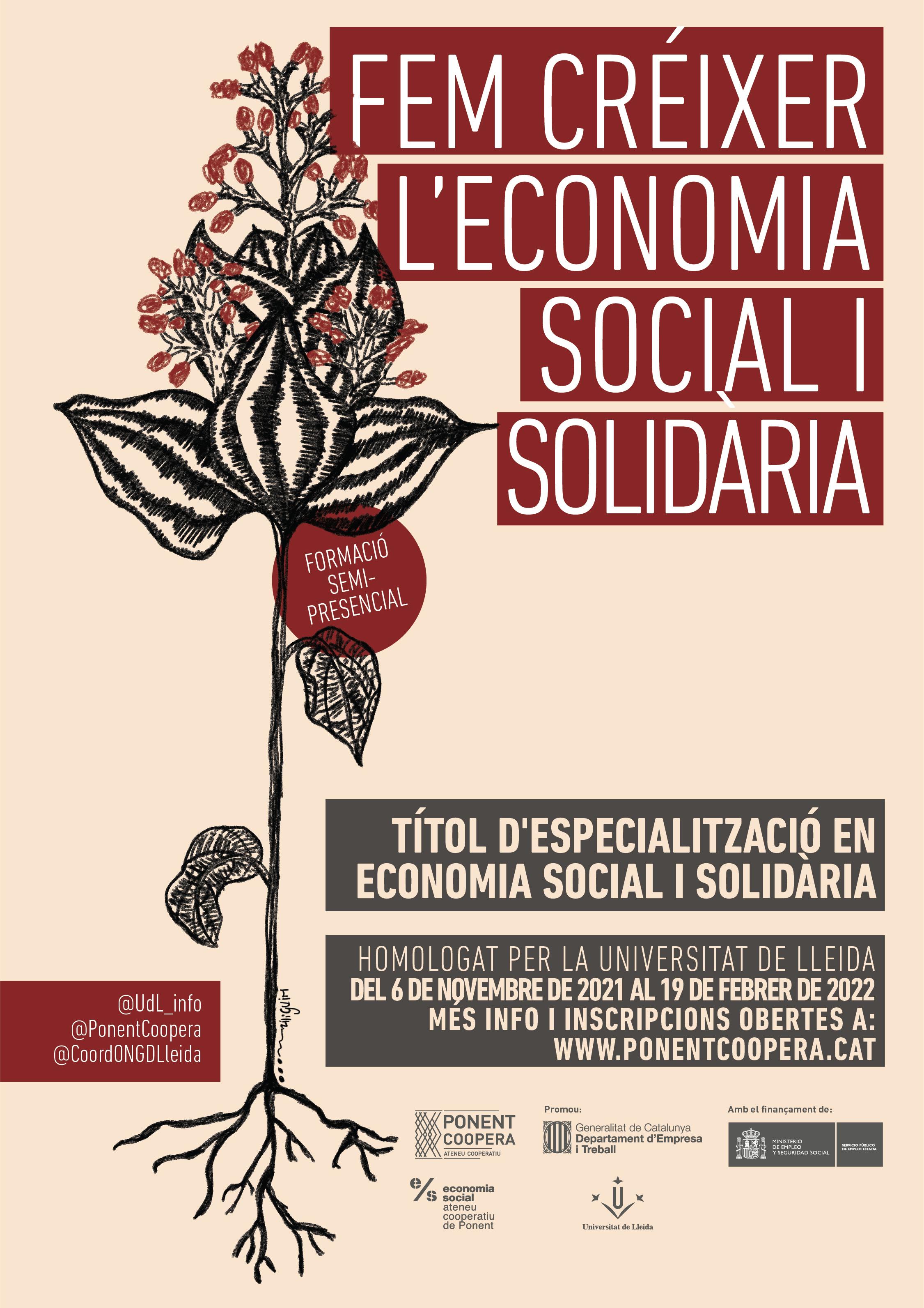 Títol d'Especialització en Economia Social i Solidària. Sessió 1