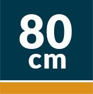 otros: 80cm
