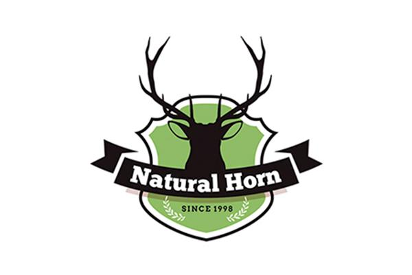 NATURAL HORN & OLIVE WOOD